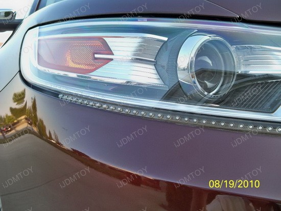 Ford - Taurus - Audi - style - LED - strip - lights - 2